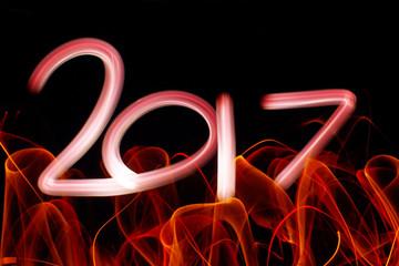 Carte bonne année 2017