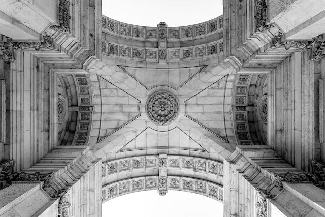 Un paseo por Lisboa - Arco de la Rua Augusta