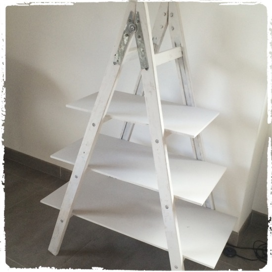 escalera pintor vintage diy
