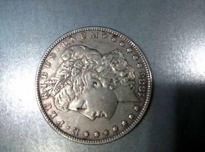 """ننشر لكم على موقع """"سوق العملات"""" عملات اجنبية للتقييم ,عملة اجنبية امريكية تعود لعام 1883 م ,للتقييم"""