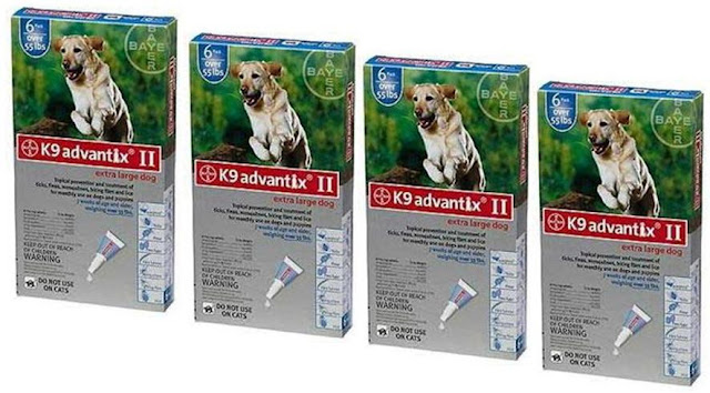 Bayer K9 Advantix Ii Flea And Tick Drops For Dogs