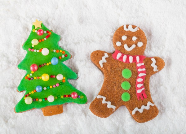 it will take roughly 24 hours for your ornaments to dry dont forget to make holes in your ornaments so you can easily hang them from the tree - Christmas Decorations Gingerbread