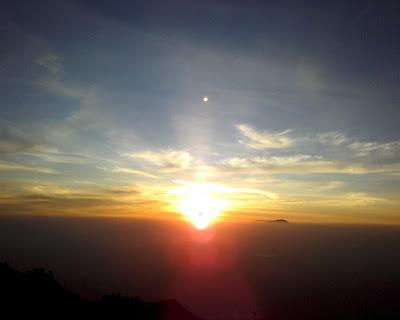 sunrise merbabu