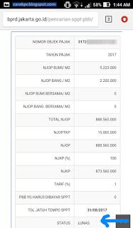 Bayar PBB Online Jakarta