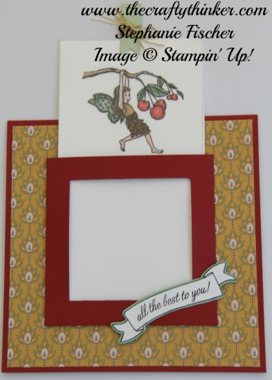 Stampin Up, #thecraftythinker, Magic Card, Fun Fold, Fairy Celebration, Stampin Up Australia Demonstrator, NSW