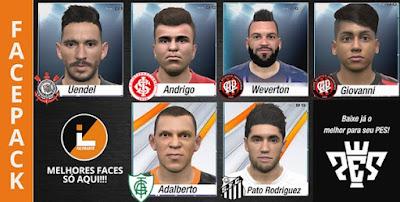 PES 2016 Facepack Brasileirao by Lucas Facemaker