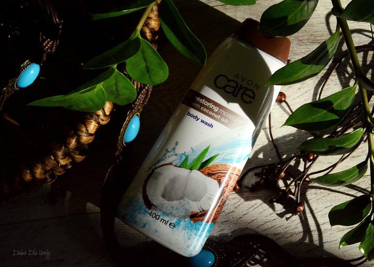 Avon Intensywnie Regenerujące Mleczko do mycia ciała z Olejkiem Kokosowym