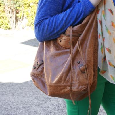 Balenciaga truffle brown RH classic day bag | awayfromtheblue