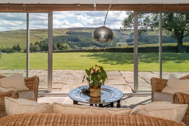 This amazing underground house has the best views in Huddersfield - plus a swimming pool and cave