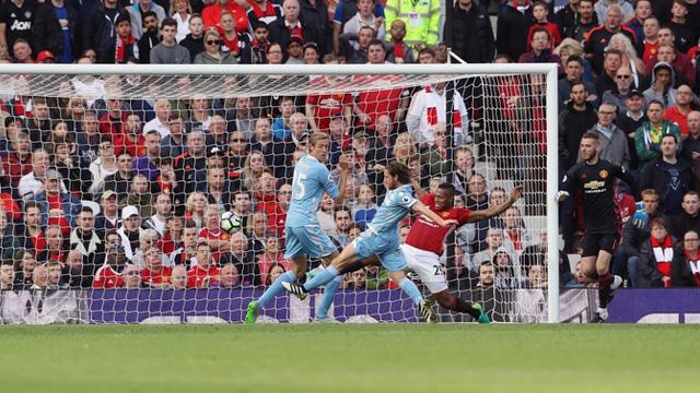 [Video] Cuplikan Gol Manchester United 1-1 Stoke (Liga Inggris)