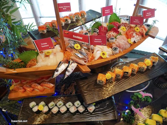 Sushi & Sashimi Family Feast @ Agehan Japanese Restaurant, Grand BlueWave Hotel