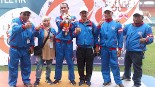 Medali Atlet NPCI Kota Cirebon Meningkat di Peparda Ke V Tahun 2018