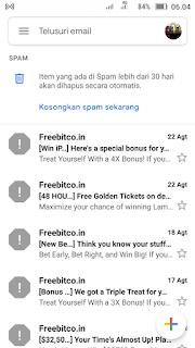 Pengertian Spam dan Contohnya