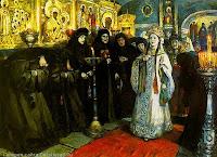 В мае 1572 года был созван церковный собор, чтобы разрешить четвертый брак царя, Первая и последующие жены царя Ивана Грозного