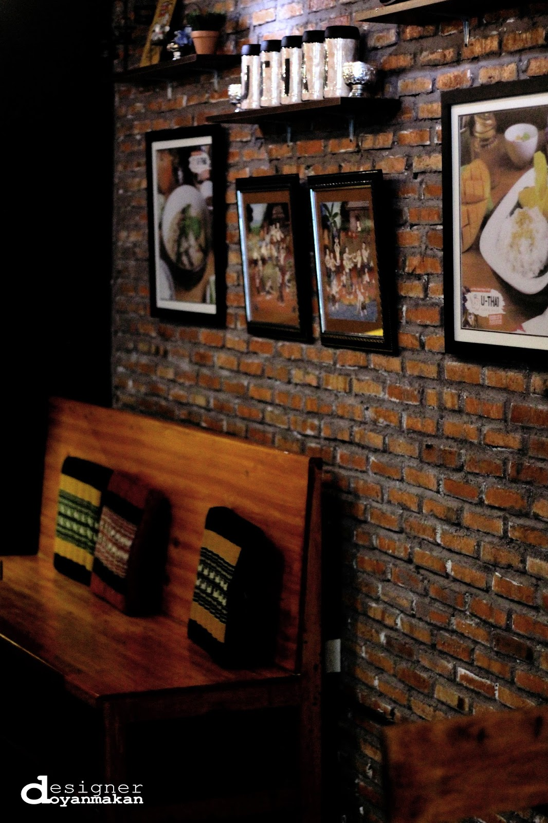 designer doyan makan: u-thai cafe & resto, the foundry 8, scbd
