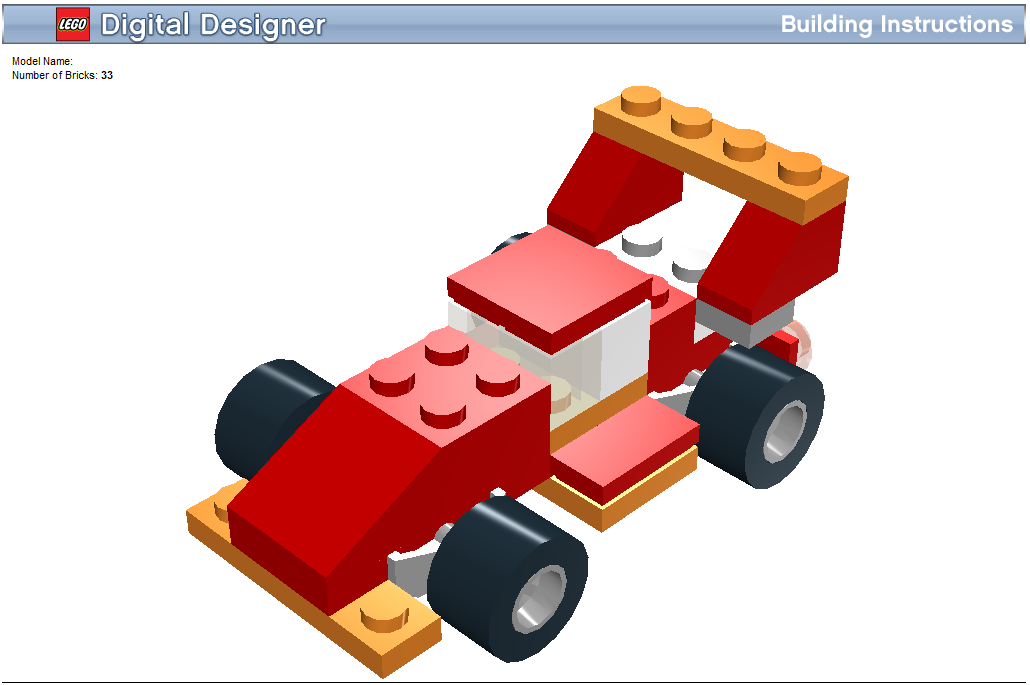 The voice of recyclable electrons: Lego Digital Designer: An