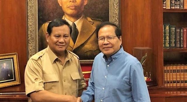 Duet Prabowo-Rizal Ramli Cocok Pimpin Indonesia