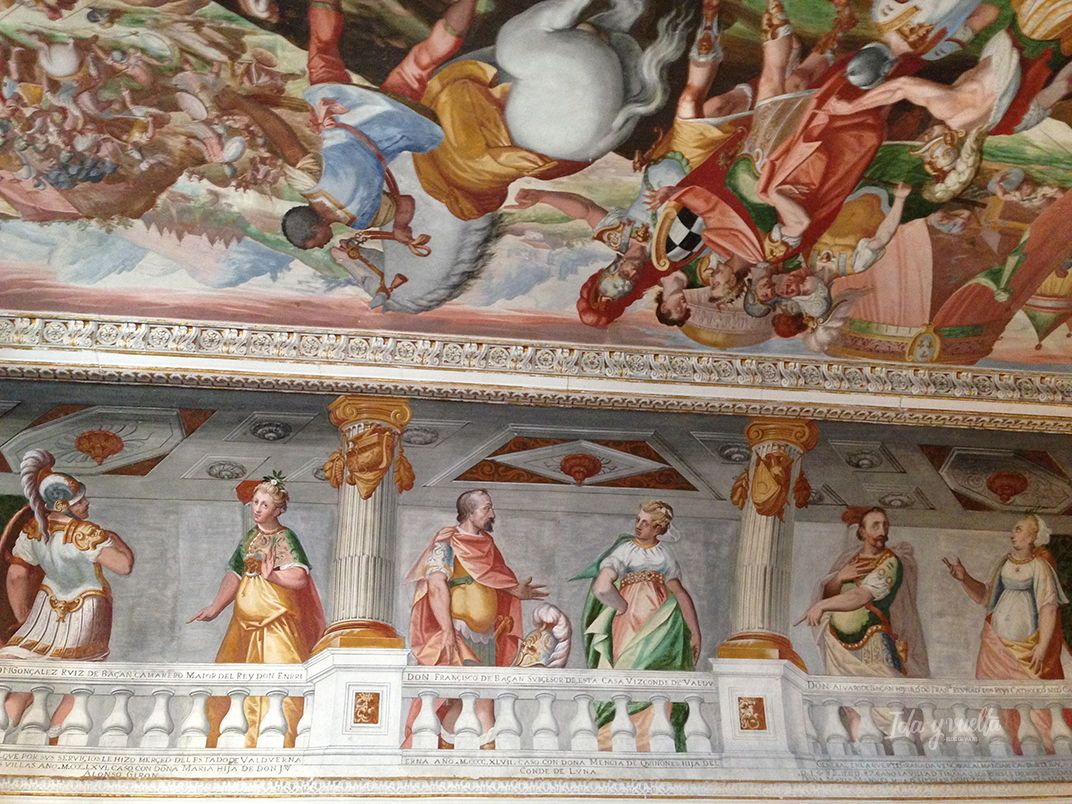 Palacio del Marqués de Santa Cruz frescos