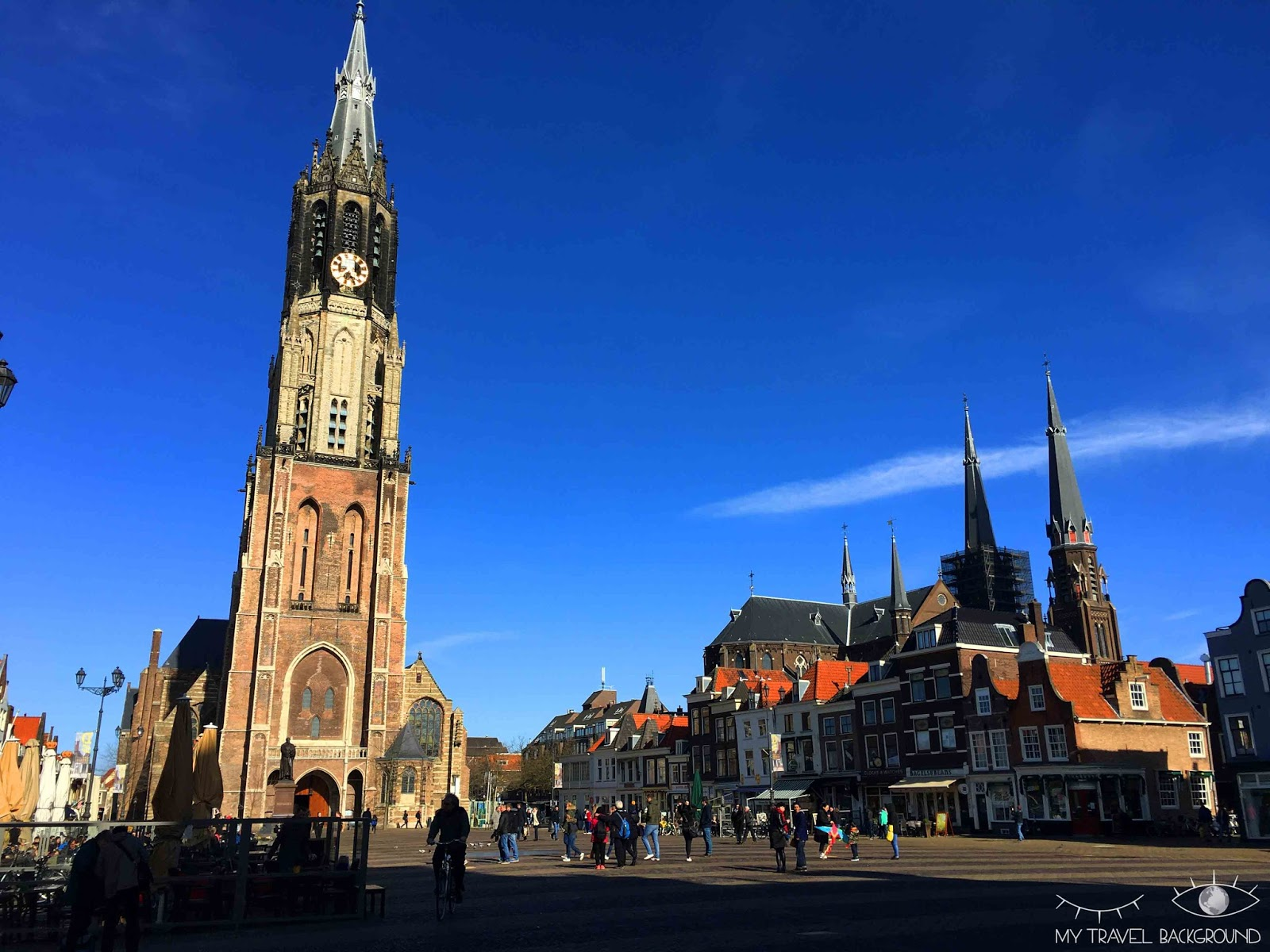 My Travel Background : 6 villes et villages découverts en 2016 - Delft, Pays-Bas