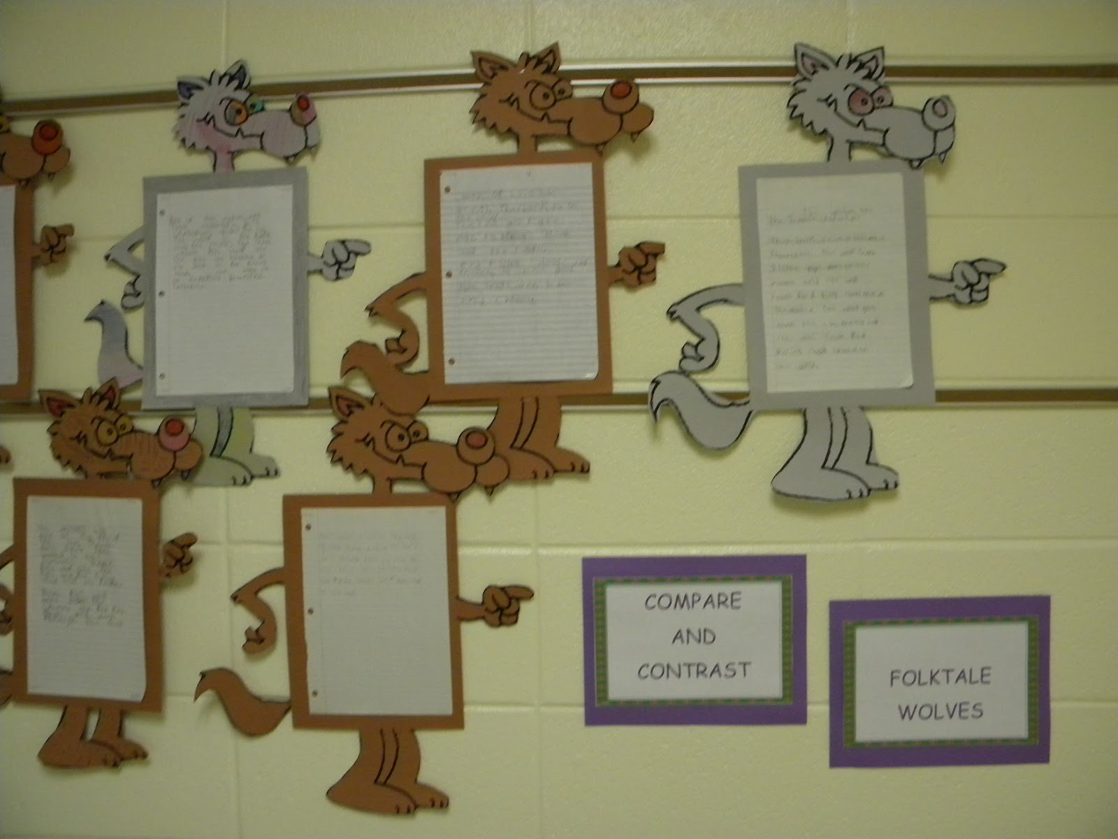 Compare and Contrast of Folktale Wolves - Conversations in