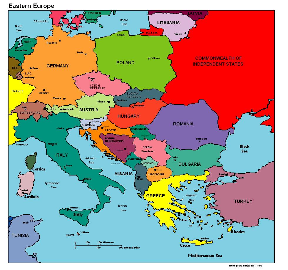 Karta Over Europa Politiska Regionen Karta Over Europa Politiska Bild