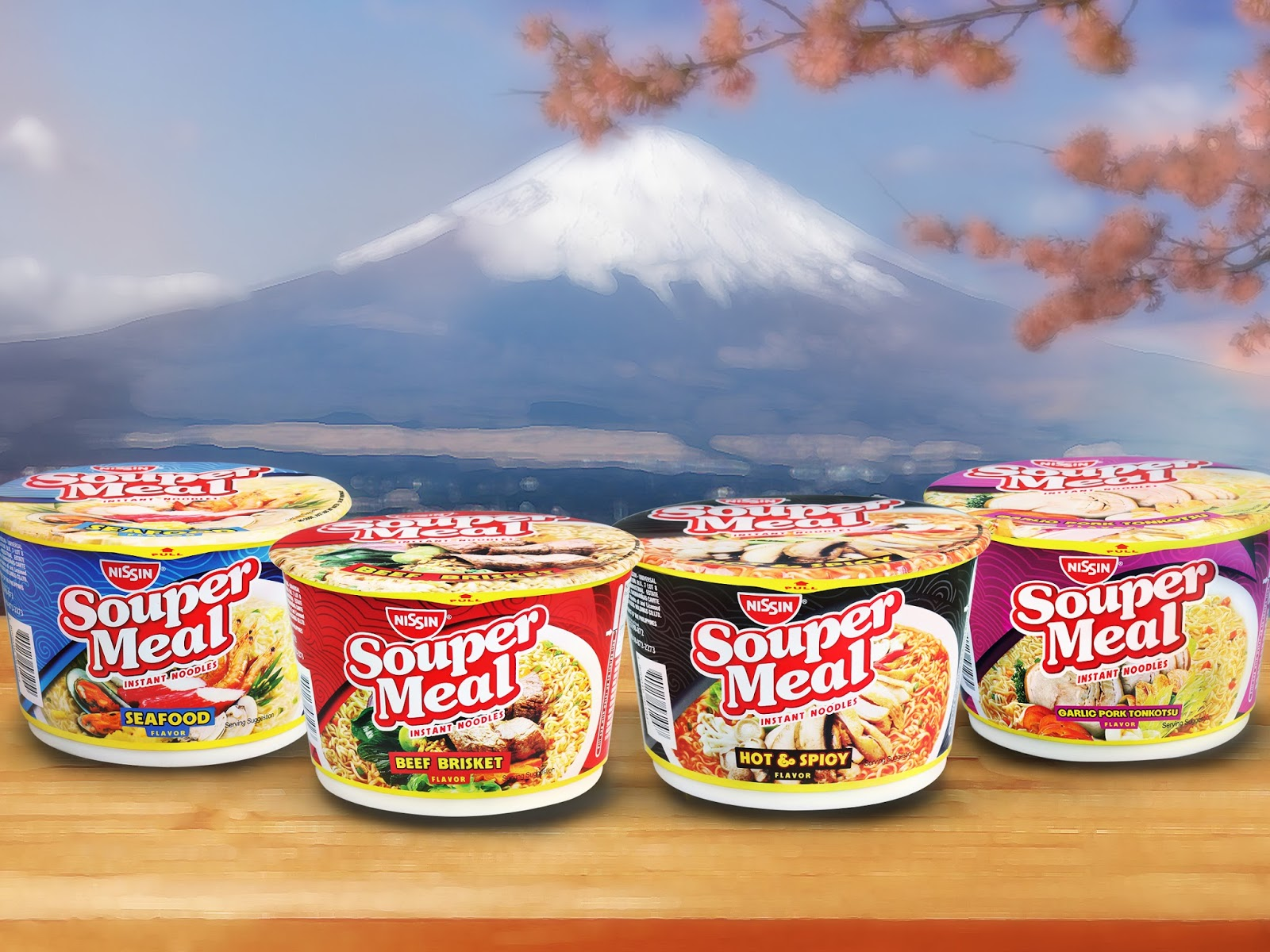 Super The Big Four Cups of Nissin Souper Meal comes in big bowls of  BN14