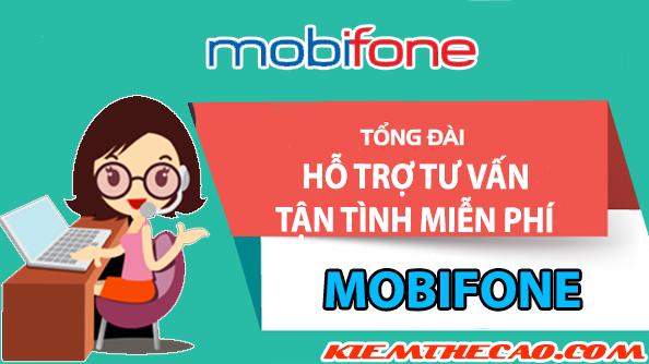 mobifone, các số tổng đài tư vấn Mobifone gọi miễn phí 24/7, kiếm thẻ cào, kiếm tiền online