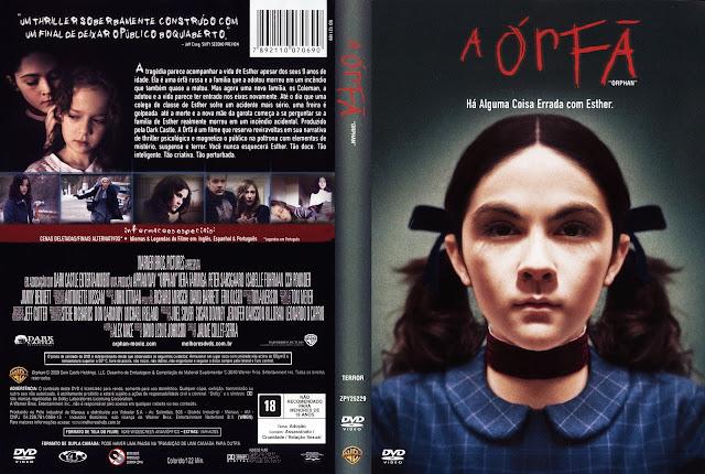 Capa DVD A Órfã