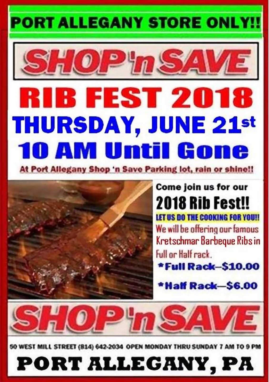 Port Allegany Shop n' Save