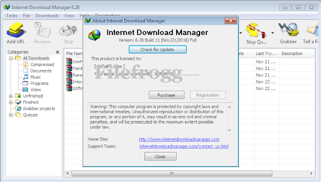 Internet Download Manager v6.26 Build 11