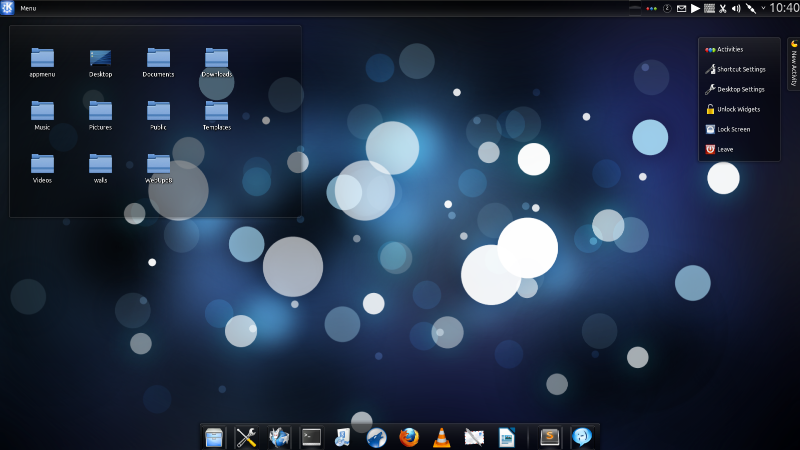 Download Ronak, The Chakra Archimedes Plasma Theme [KDE] ~ Web Upd8