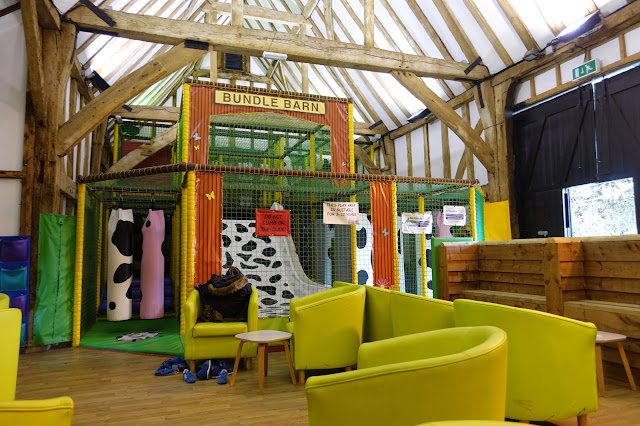 Bundle Barn soft play at Lee Valley Park Farms