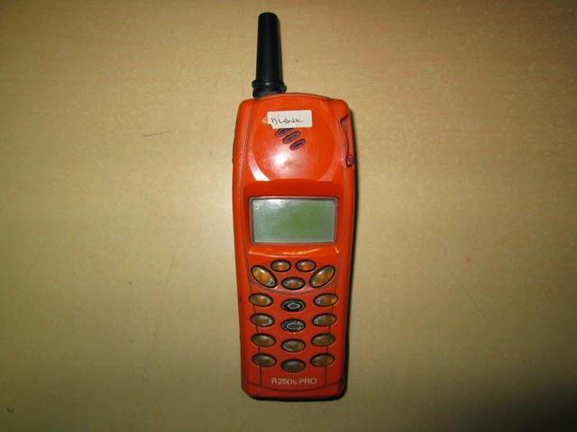 Ericsson paus R250 rusak buat kanibalan