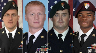Pentagon investigating troubling questions after deadly Niger ambush