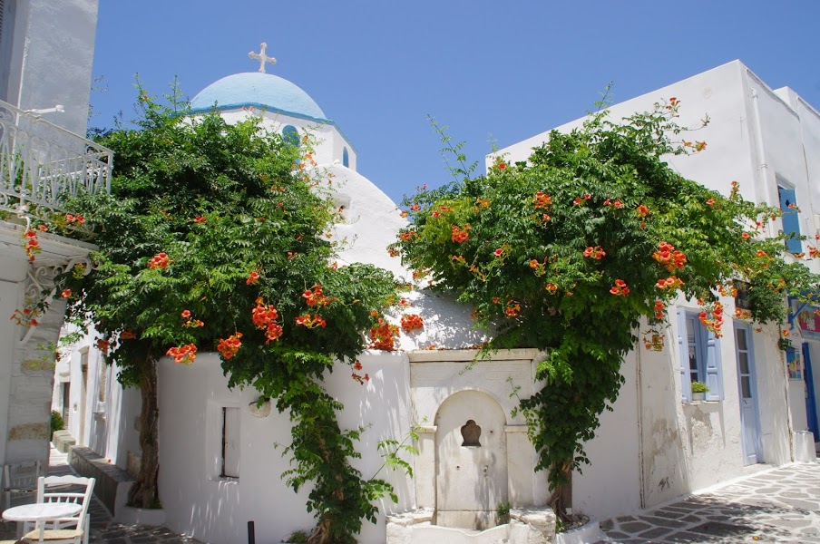 Parikia Paros Greece