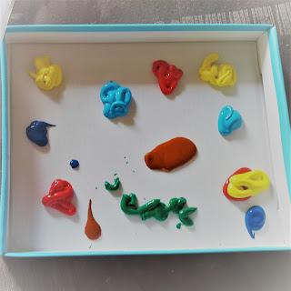 atelier creatif creation bebe tableau peinture sans tâche facile tout petits