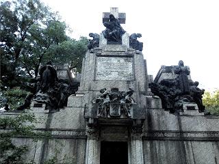 O Imponente Jazigo do Conde Matarazzo no Cemitério da Consolação