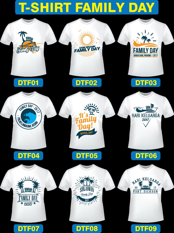 Design T Shirt For Family Day