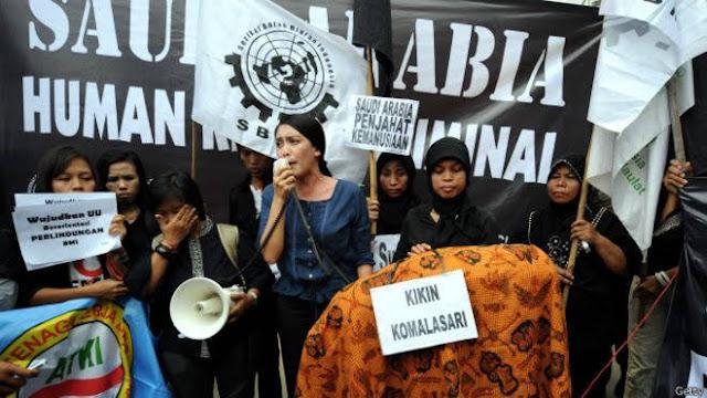 Arabia Saudita ejecuta a criada indonesia que mató a su violador