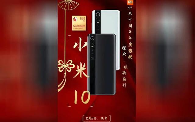 Xiaomi Mi 10 Pro:11 Şubat 2020'de Tanıtılması Bekleniyor!