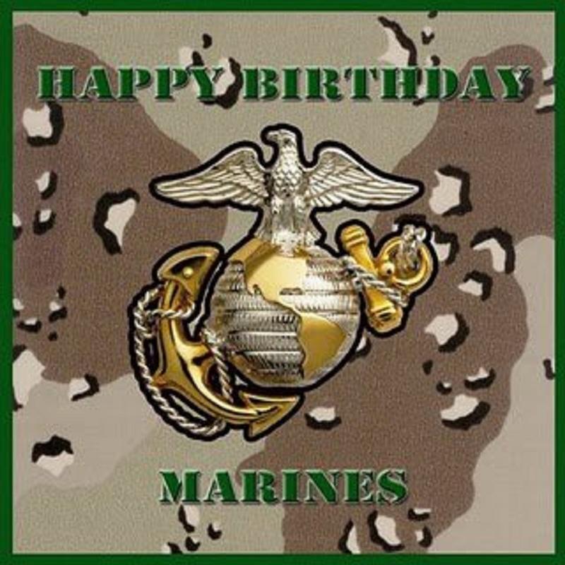 HAPPY BIRTHDAY MARINE CORPS.......SEMPER FIDELIS