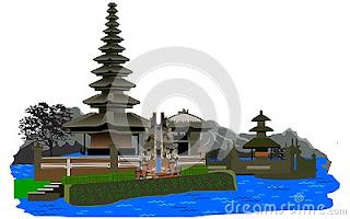 Lake Bratan Bali Indonesia