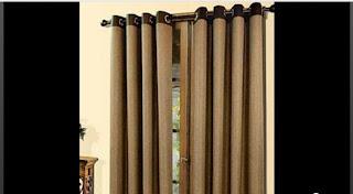 cortinas con ojalillos