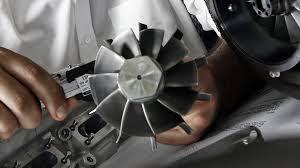 Giranti di scarico della Turbina, durante la progettazione