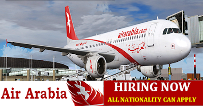 Jobs Vacancies at Air Arabia (Sharjah)