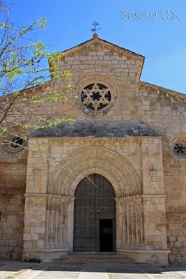 Brihuega -  iglesia de Santa María de la Peña