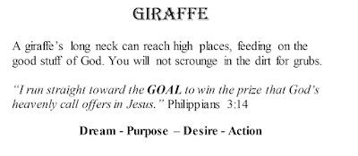 Philippians 3:14 Giraffe