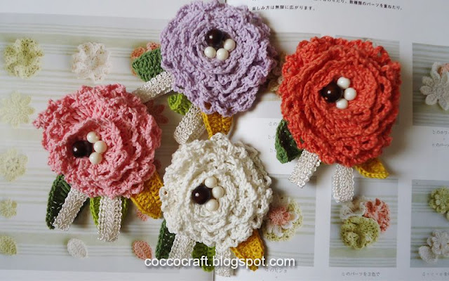 10 Crochet Flower Ideas For Accessories