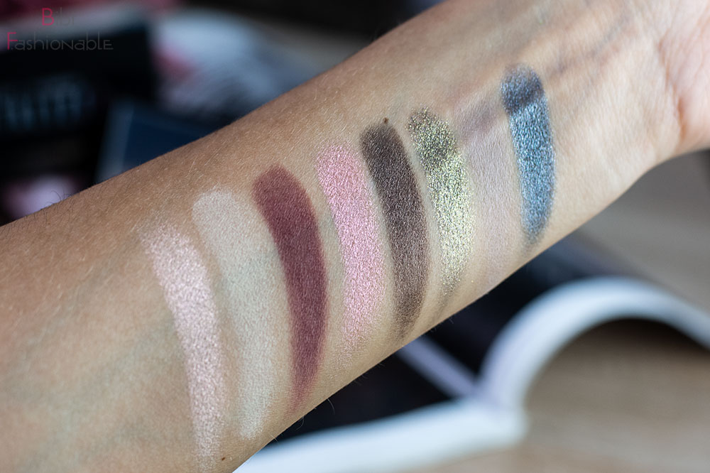 Smashbox x The Hoodwitch Crystalized Collection Cover Shot Crystalized Eye Palette Swatches