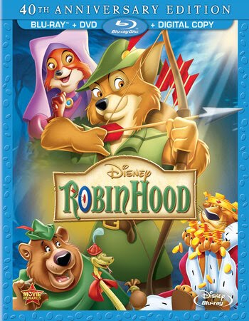 Robin Hood (1973) Dual Audio Hindi 720p BluRay x264 700MB ESubs